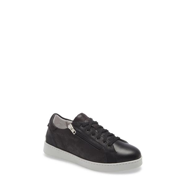 ダイビッドテイト レディース スニーカー シューズ Elisa Sneaker Black Leather