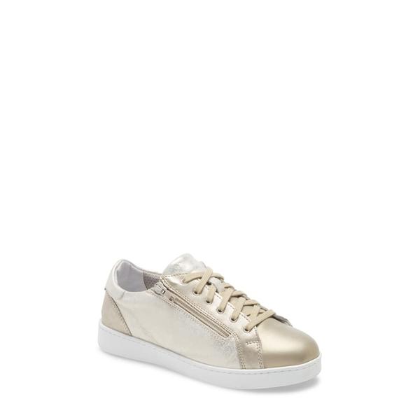 ダイビッドテイト レディース スニーカー シューズ Elisa Sneaker Platinum Leather