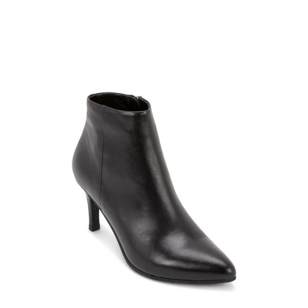 ブロンド レディース ブーツ&レインブーツ シューズ Teri Waterproof Bootie Black Leather