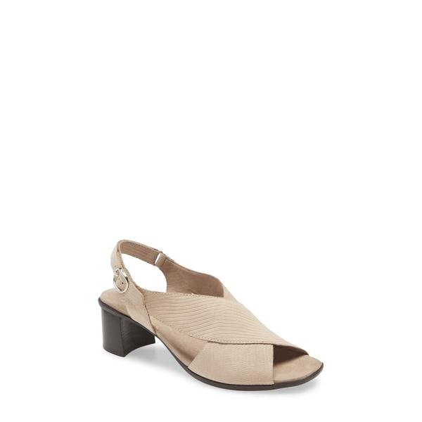 ムンロー レディース サンダル シューズ Laine Block Heel Sandal Taupe Snake Print Leather