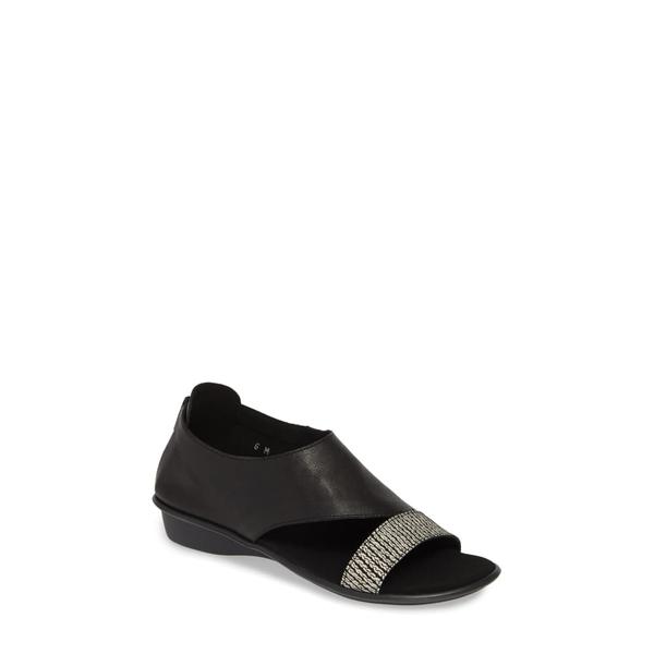 セストメウッシー レディース サンダル シューズ Everly Shield Sandal Black Print Leather