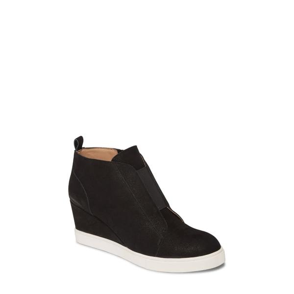 リネアパウロ レディース スニーカー シューズ Felicia III Wedge Sneaker Black Pearl Leather