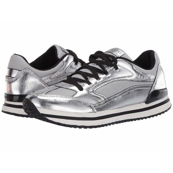 スケッチャーズ レディース スニーカー シューズ St. Racer - Fashion Flash Grey/Silver