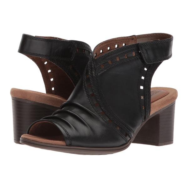ロックポート レディース ヒール シューズ Cobb Hill Hattie Envelope Black Leather