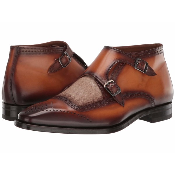 ブルーノマグリ メンズ ブーツ&レインブーツ シューズ Carlo Cognac/Linen