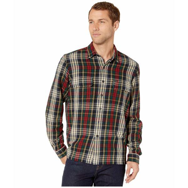 ラルフローレン メンズ シャツ トップス Long Sleeve Brushed Twill Classic Fit Shirt Winter Green/Tan Multi