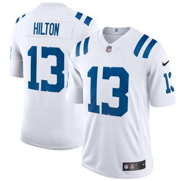 ナイキ メンズ ユニフォーム トップス T.Y. Hilton Indianapolis Colts Nike Vapor Limited Jersey White