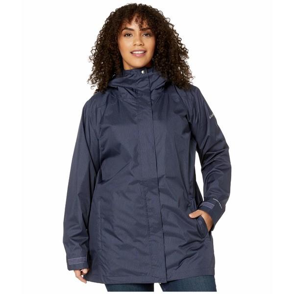 コロンビア レディース コート アウター Plus Size Splash A Little II Rain Jacket Nocturnal Titch Diamond Print