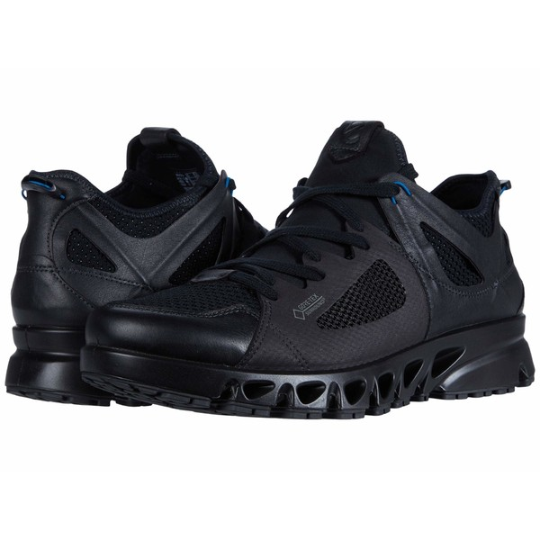 エコー メンズ スニーカー シューズ Multi-Vent Air GORE-TEX Black/Black/Olympian Blue