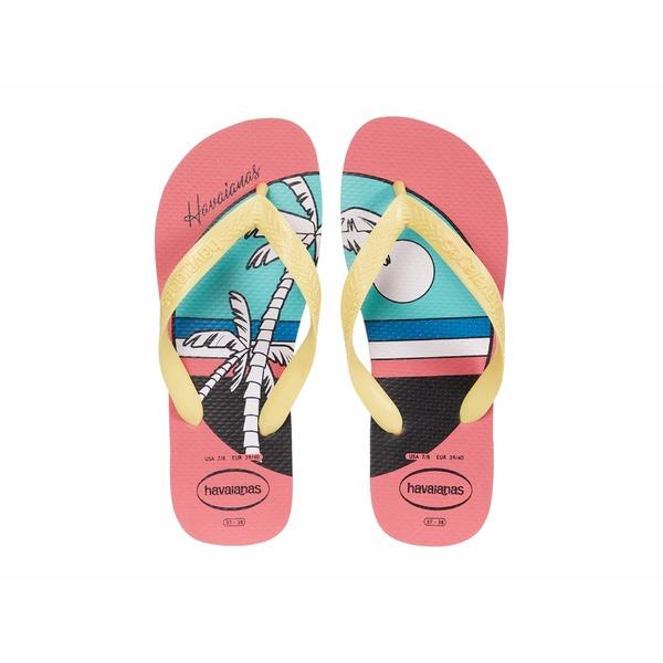 ハワイアナス レディース サンダル シューズ Top Vibes Sandal Porcelain Pink