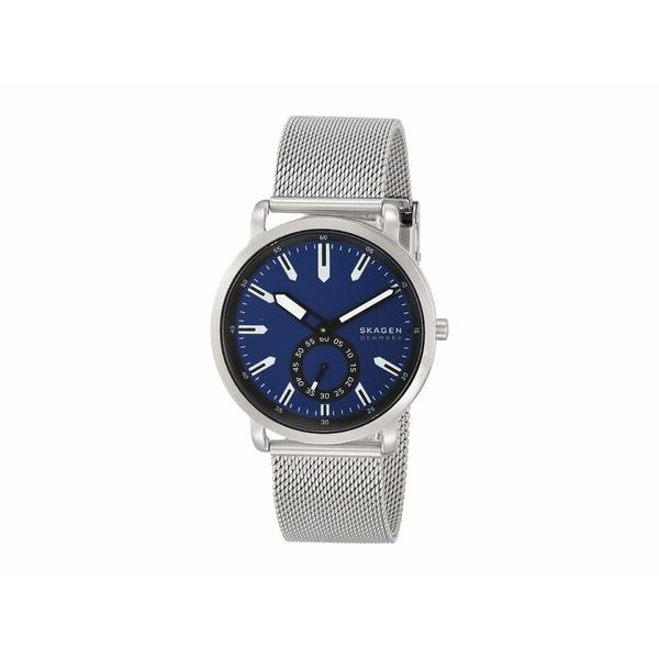 スカーゲン メンズ 腕時計 アクセサリー Colden Three-Hand Mesh Watch SKW6610 Silver Stainless Steel Mesh