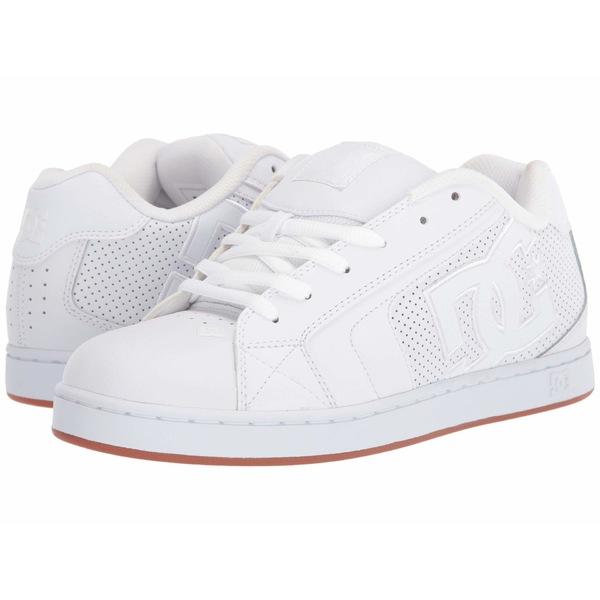 ディーシー メンズ スニーカー シューズ Net White/White/Gum