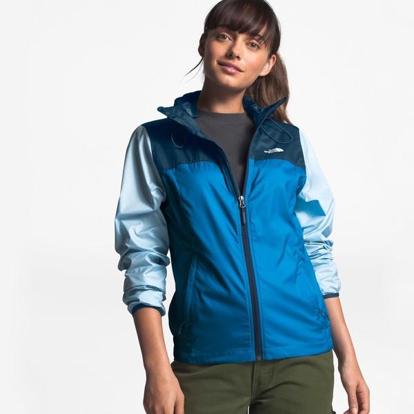 ノースフェイス レディース ジャケット&ブルゾン アウター Cyclone Windrunner Jacket Clear Lake Blue
