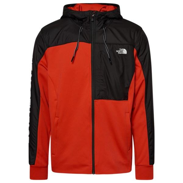 ノースフェイス メンズ ジャケット&ブルゾン アウター Essential FullZip Jacket Red/Black