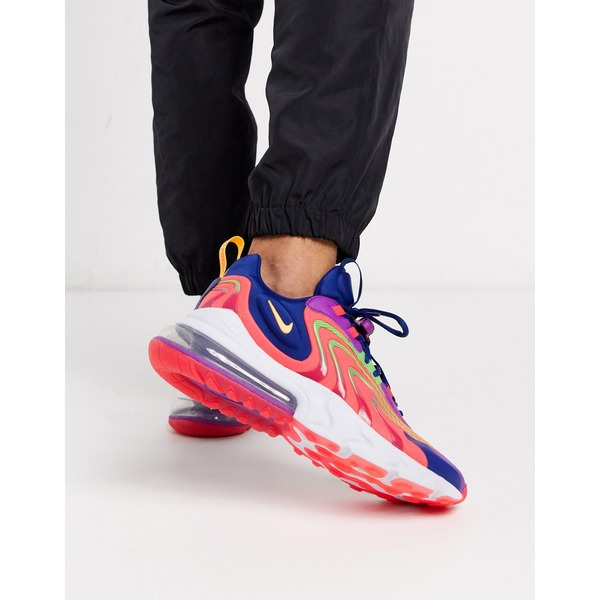 ナイキ メンズ スニーカー シューズ Nike Air Max 270 React Engage sneakers in pink Pink