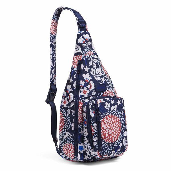 ベラブラッドリー レディース バックパック・リュックサック バッグ ReActive Sling Backpack Red/White/Blossoms