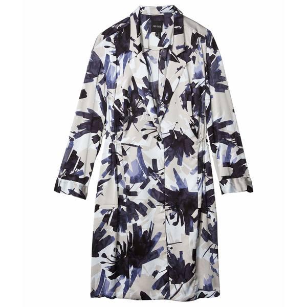 ニックプラスゾーイ レディース シャツ トップス Plus Size Inky Flowers Jacket Blue Multi