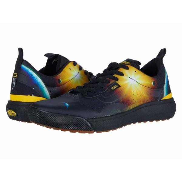 バンズ メンズ スニーカー シューズ Vans x National Geographic Collab Shoes (National Geographic) Black/Yellow (Ultrarange EXO)
