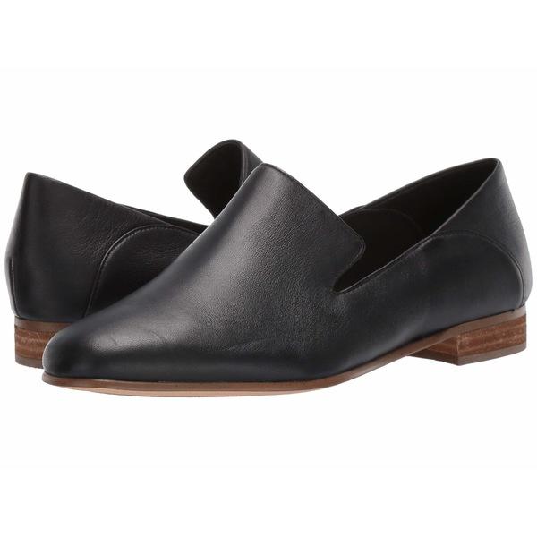 クラークス レディース スリッポン・ローファー シューズ Pure Viola Black Leather