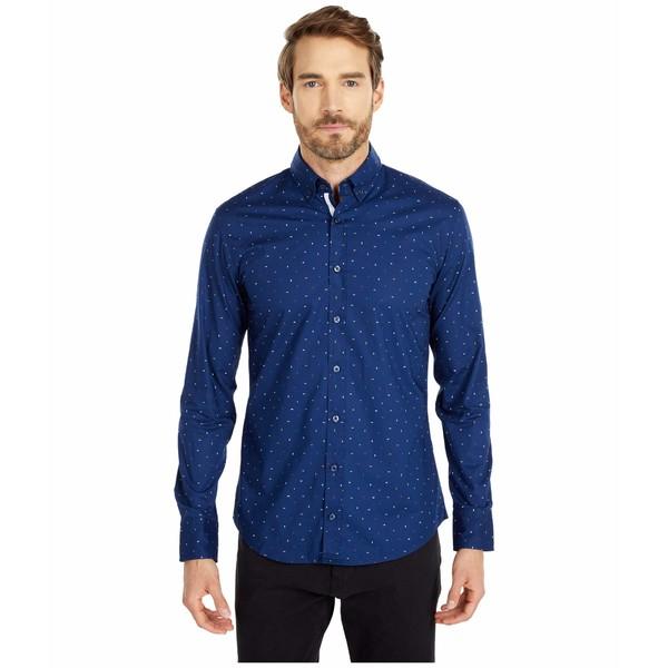 ヒューゴボス メンズ シャツ トップス Mabsoot Woven Shirt Dark Blue