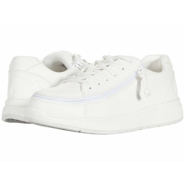 ビリーフットウェア レディース スニーカー シューズ Work Comfort Lo White/White
