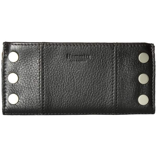 ハミット レディース 財布 アクセサリー 110 North Black/Brushed Silver