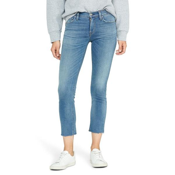 ハドソンジーンズ レディース カジュアルパンツ ボトムス Hudson Jeans Nico Fray Hem Crop Straight Leg Jeans (Lovesick) Lovesick