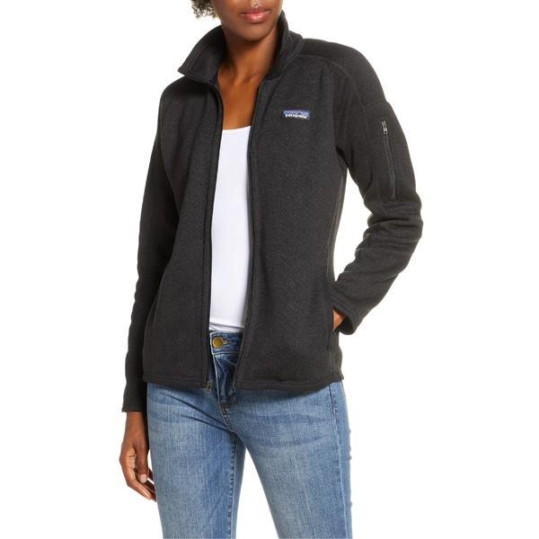 パタゴニア レディース ジャケット&ブルゾン アウター Patagonia Better Sweater Jacket Black