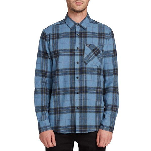 ボルコム メンズ シャツ トップス Volcom Caden Plaid Button-Up Flannel Shirt Rne