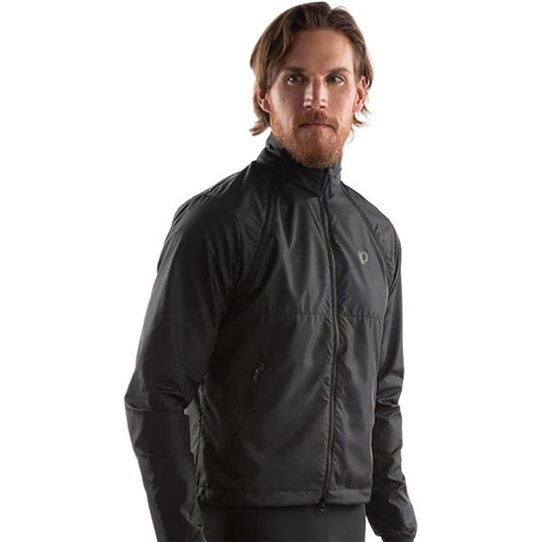 パールイズミ メンズ スポーツ サイクリング Black 全商品無料サイズ交換 - 物品 Men's Barrier Convertible Quest Jacket セットアップ