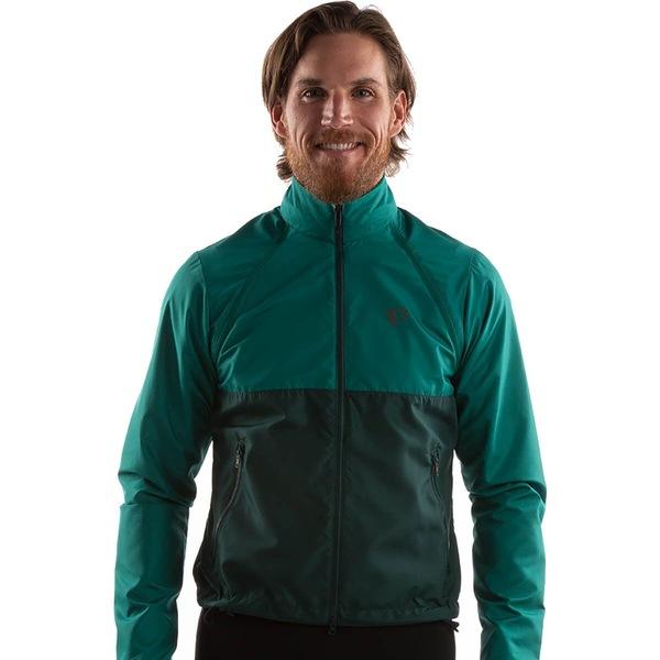 パールイズミ メンズ スポーツ サイクリング Alpine Green Pine (訳ありセール 格安) Jacket 限定品 全商品無料サイズ交換 Quest Barrier - Convertible Men's