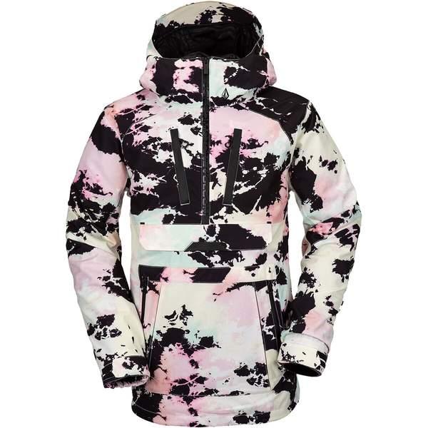 ボルコム メンズ スノーボード スポーツ Brighton Hooded Pullover Jacket - Men's Mix:asty