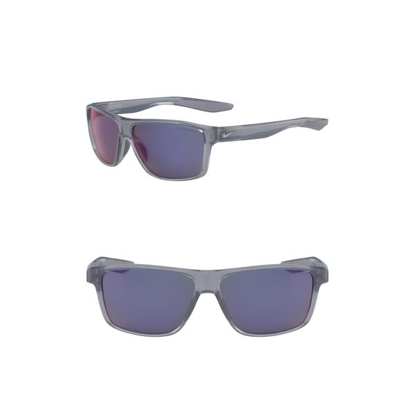 ナイキ メンズ アクセサリー サングラス アイウェア お見舞い 中古 COOL GREY Sport 60mm Sunglasses Premier ML 全商品無料サイズ交換 IN