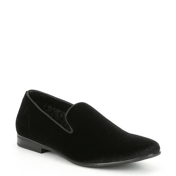 【期間限定送料無料】 スティーブ マデン Men's メンズ スティーブ ドレスシューズ シューズ Men's Plush Velvet Black Cents Loafer Black, ASPO アスリート:61137a37 --- enduro.pl