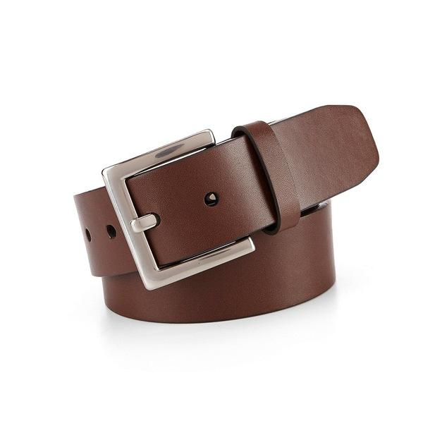 ムラノ メンズ ベルト アクセサリー Leather Belt Brown