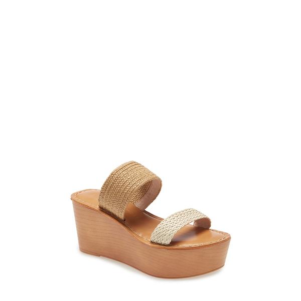 チャイニーズランドリー レディース サンダル シューズ Wind Wedge Sandal Tan/ Cream Fabric
