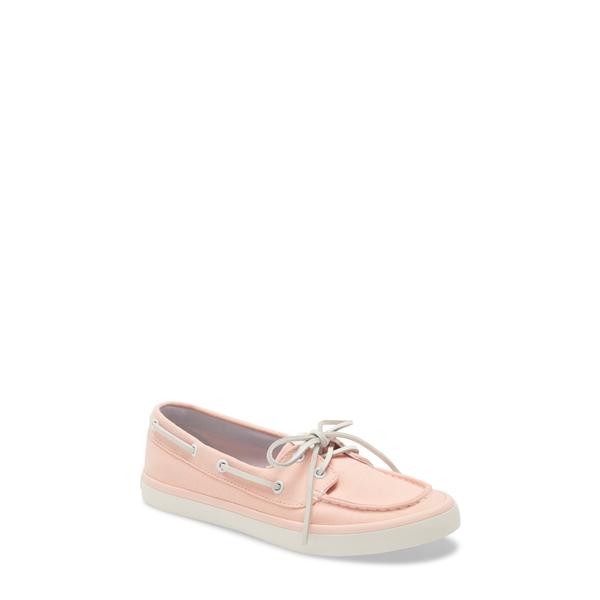 スペリー レディース サンダル シューズ Sailor Boat Shoe Pink Chambray Fabric