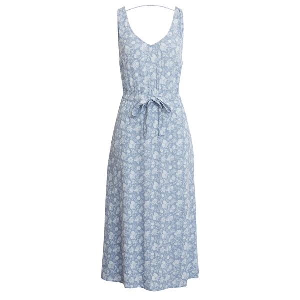 トレジャーアンドボンズ レディース ワンピース トップス Blouson Tank Midi Dress Blue Greta Floral