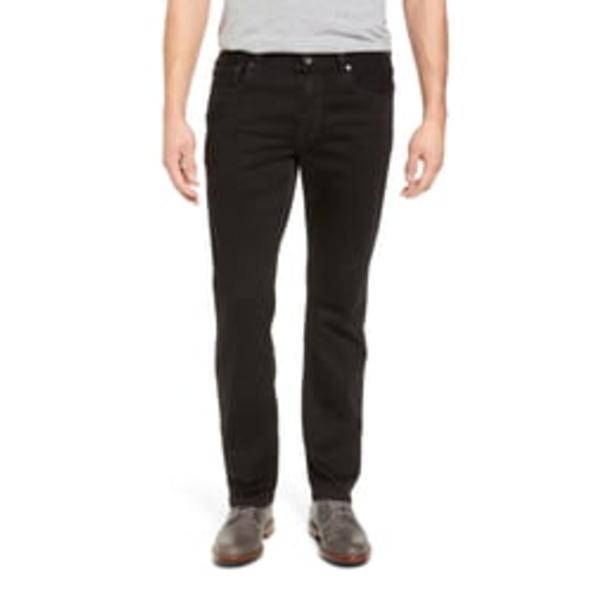トッミーバハマ メンズ デニムパンツ ボトムス Straight Leg Jeans Black Overdye