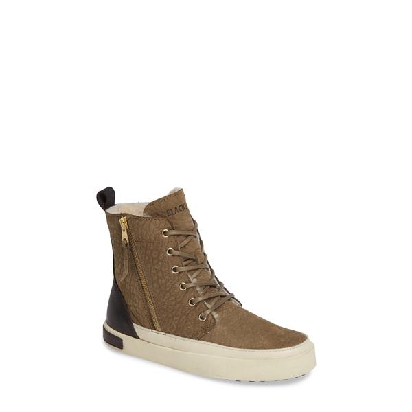ブラックストーン レディース ブーツ&レインブーツ シューズ 'CW96' Genuine Shearling Lined Sneaker Boot Cub Leather
