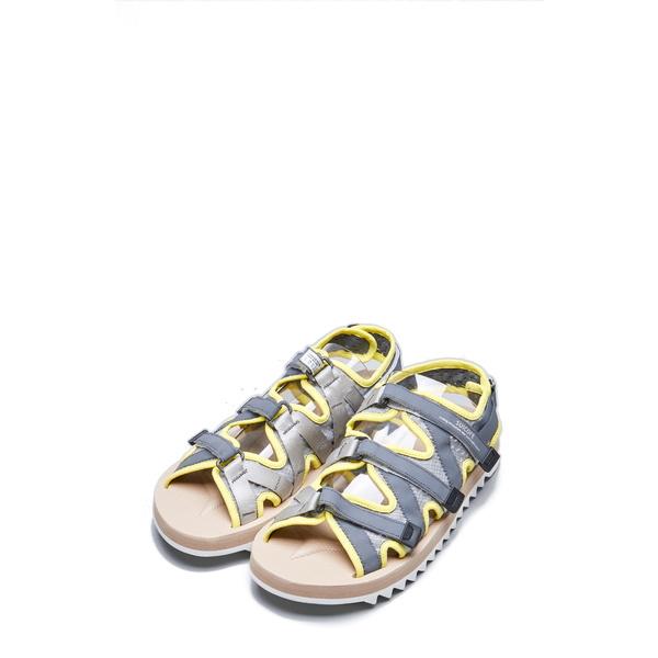 スイコック レディース サンダル シューズ Zip Sandal Yellow