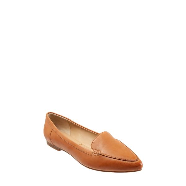 トロッターズ レディース サンダル シューズ Ember Flat Caramel Leather