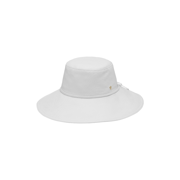 ヘレンカミンスキー レディース ヘアアクセサリー アクセサリー Wide Brim Canvas Hat White