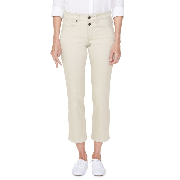エヌワイディージェイ レディース デニムパンツ ボトムス Marilyn Ankle Straight Leg Jeans Feather