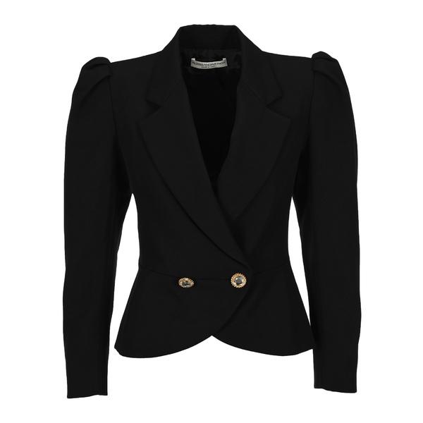 ジャケット&ブルゾン Rich Alessandra アウター - Blazer アレッサンドラ・リッチ Double-Breasted レディース Padded Shoulder