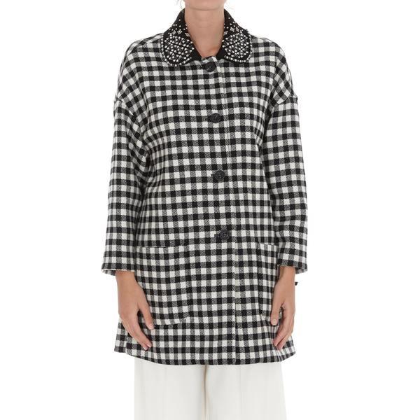 レディース Collar アウター レッドヴァレンティノ Embellished コート REDValentino Coat - Single-Breasted