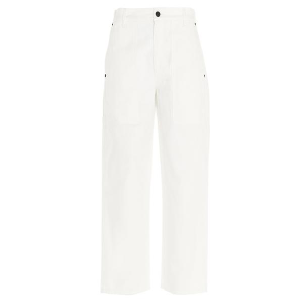 クラシック ザロウ レディース カジュアルパンツ ボトムス The Row Cropped Wide-Leg Pants -, きもの幸造 d83eb80d