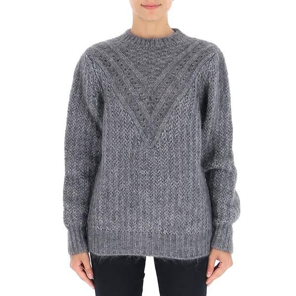 Sweater Ferretti Alberta レディース Knit - フェレッティ アルベルタ Crewneck ニット&セーター アウター