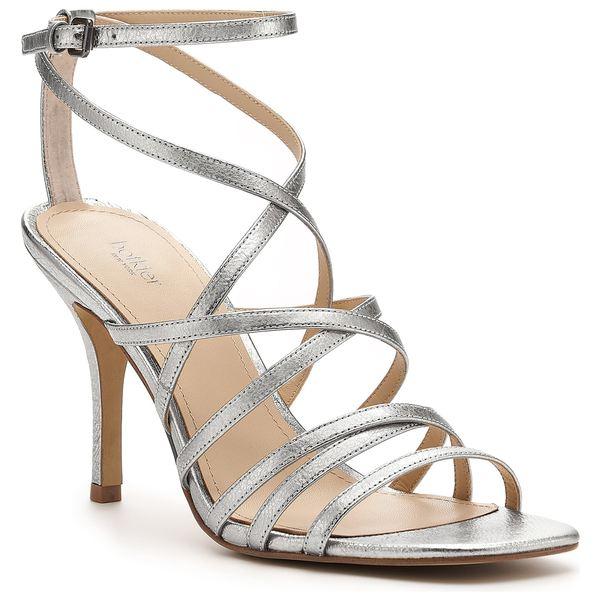ボトキエ レディース サンダル シューズ Botkier Lorain Strappy Sandal (Women) Silver Suede