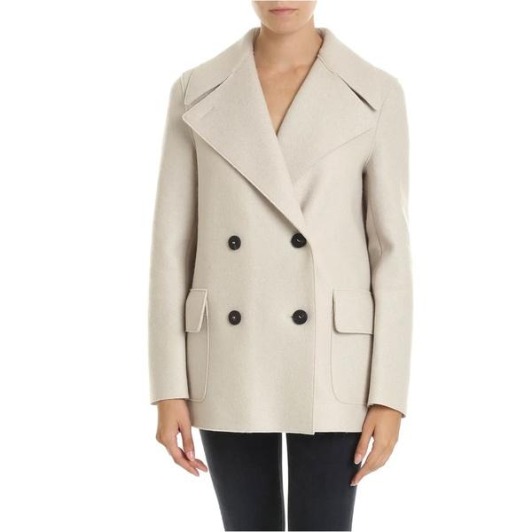 ハリスワーフロンドン レディース ジャケット&ブルゾン アウター Harris Wharf London - Coat Crema